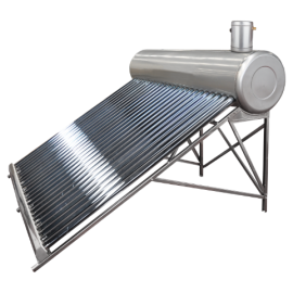 Sistem Panou Solar cu Tuburi Vidate SP-470 C INOX 100L