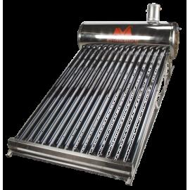 Sistem Panou Solar cu Tuburi Vidate SP-470 C INOX Inclinatie Redusa 100L